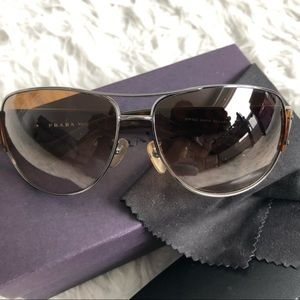 Prada Aviator Pilot Sunglasses